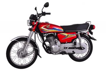Honda CG 125 S (Red & Black)