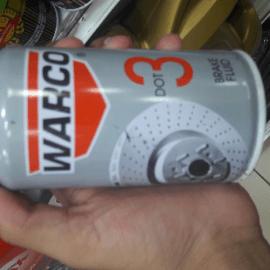 Warco 3 dot brake fluid