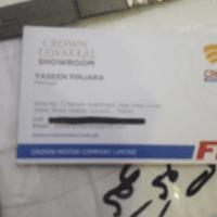 Crown Tawakkal Showrom