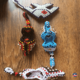Pure Handmade Key chain khussa keyring Random color new design