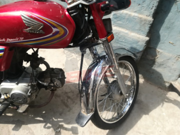 honda cd 70 lahore registered life time token