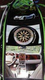 Motor cycle Tanki Cover