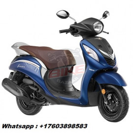 Yamaha Fascino 113 Cc Beaming Blue Scooter