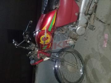 Metro model 2013 bike in Lahore town ship